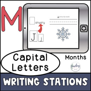capitalization of the months of the year