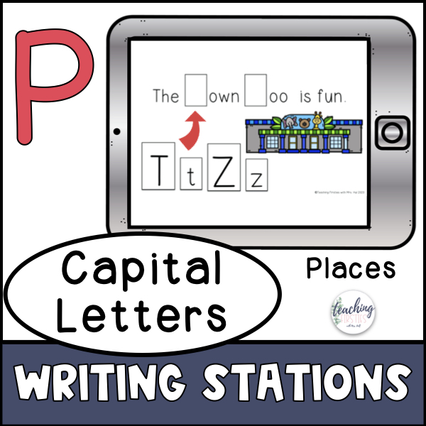 capitalization of places