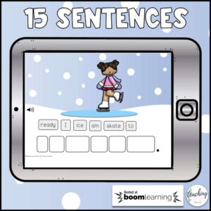 sentence scrambles for January
