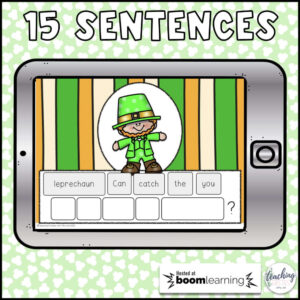 sentence scrambles for March