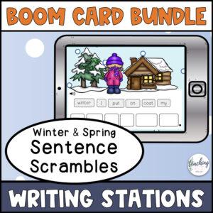 winter-spring-sentence-scramble