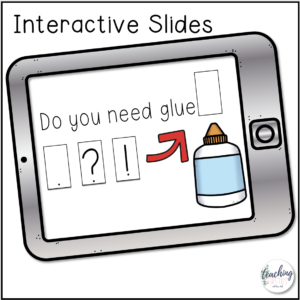 interactive slides for teaching punctuation