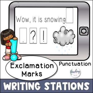 punctuation practice for using punctuation marks