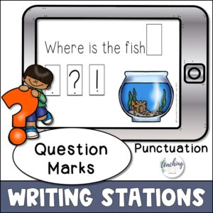 punctuation practice for using question marks