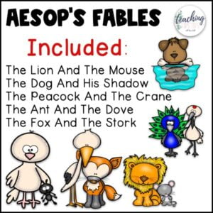aesops fables for kids