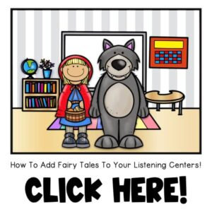 popular fairy tales for your listening centers
