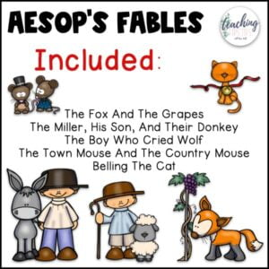 aesops fables with morals