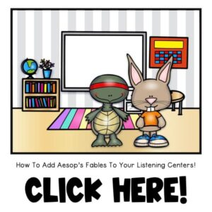 famous aesops fables for your listening center